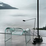 """The glass """"ghost"""" chair"""