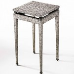 Marcel Coard's eggshell side table
