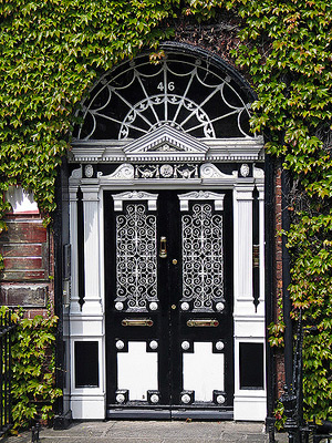 Most Beautiful Doors Dublin Themodernsybarite