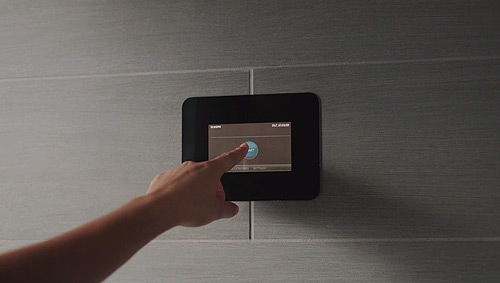 Mr. Steam touch control