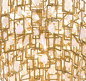 Modern custom lighting that makes a statement themodernsybarite wired lighting chandelier detail themodernsybarite aloadofball Image collections