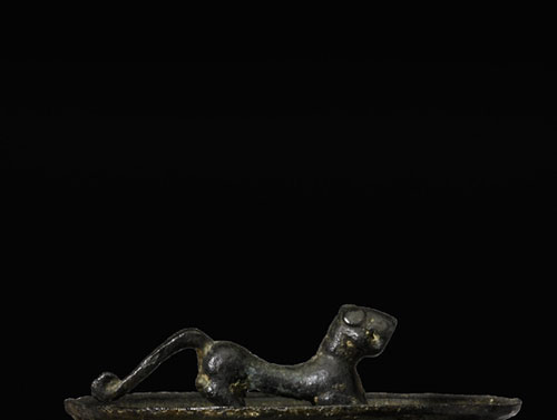 Sothebys-Chinese-Bronzes-lion-detail