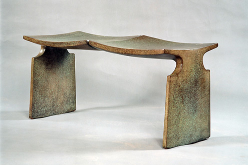 David-Ebner-bronze-bench