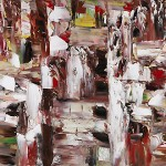 Jean-Emile-Borduas-Canada-red-abstract
