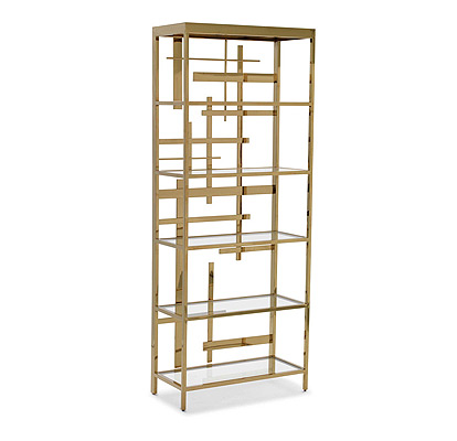 unique modern bookcases metal