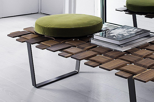 modern wood footstool a chic contemporary wood bench themodernsybarite