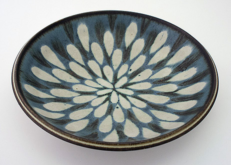 mid century ceramics plate by Harrison McIntosh