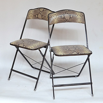 stylish folding chairs for the home themodernsybarite