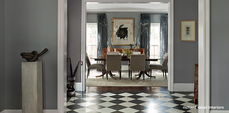 Dining Room designed by Richard Rabel