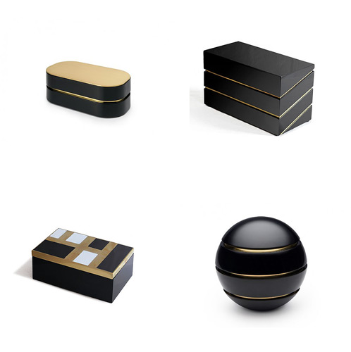 Modern Lacquer Furniture Boxes