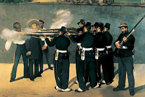 chapultepec castle death of maximilian manet