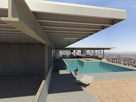 Stahl-House with pool