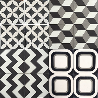 hacienda-style-decor-cement-tiles-black