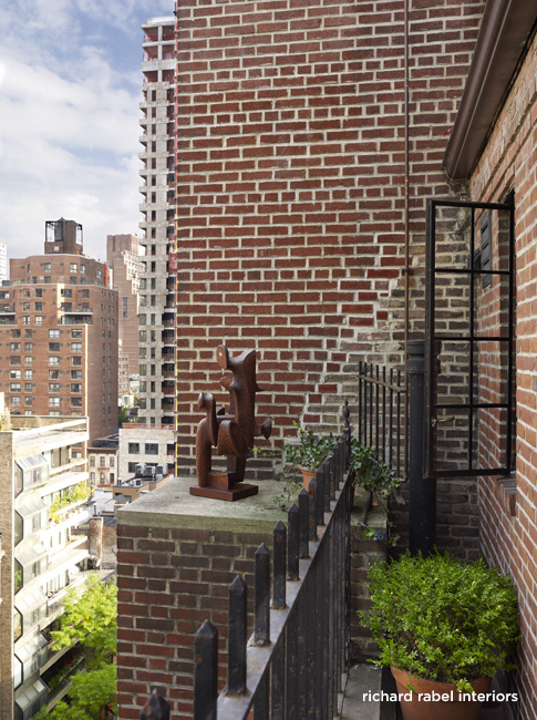 Nyc pied terre interior design richard rabel interiors for Pied a terre manhattan