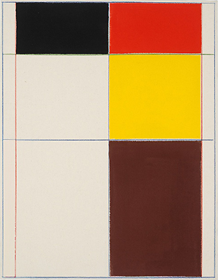 matt connors nyc contemporary artist mondrian