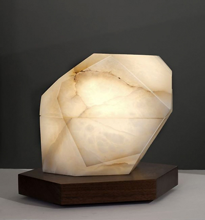 modern alabaster lighting Stephen Downes table lamp