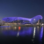 An LED-lighting marvel in Abu Dhabi