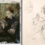 A century of fashion and glamour come together in the works of Paul César Helleu and Cathleen Naundorf