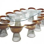 designer Warren Platner's classic american modernism: more than wire furniture