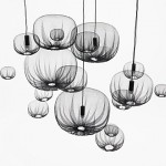 "The ""aha"" moment in the farming-net light pendants from Nendo"