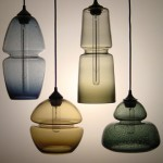 modern silhouettes: the glass pendants of furthurdesign