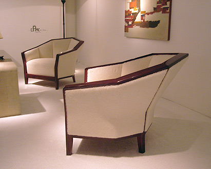 chairs by Pierre Chareau