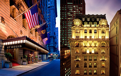 St. Regis Hotel New York City