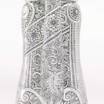 a tattooed tiffany silver pitcher at sotheby's