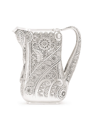 Sotheby's-Tiffany-Tattooed-Silver-Pitcher