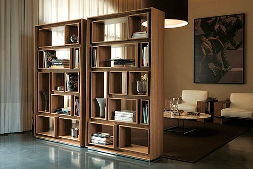 unique modern bookcases porada