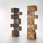 unique modern bookcases cantilever deCastelli