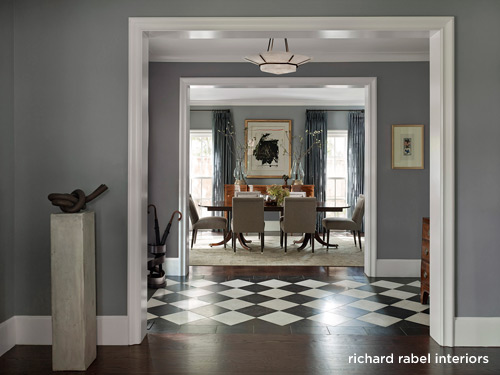 Richard Rabel Dallas home Renovation Dining Room