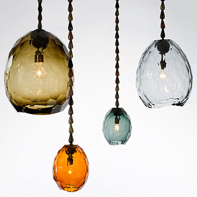 contemporary art fair R and Company pendant lights