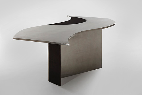 Maria-Pergay-wave-desk