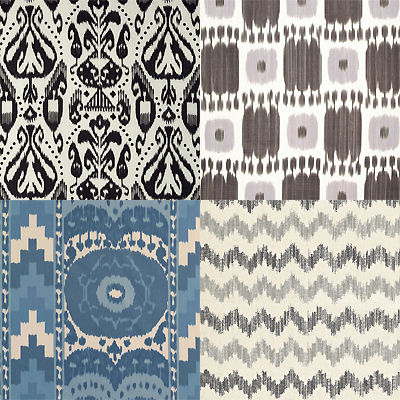 Schumacher ikats-prints