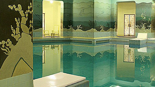 art deco interiors swimming-pool-Umaid-Bhawan-Palace
